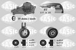 Zestaw paska rozrządu + pompa wody SASIC 3900014 SASIC 3900014