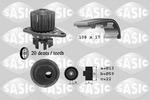 Zestaw paska rozrządu + pompa wody SASIC 3900021