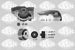 Zestaw paska rozrządu + pompa wody SASIC 3900024 SASIC 3900024
