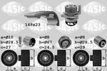 Zestaw paska rozrządu + pompa wody SASIC 3906057