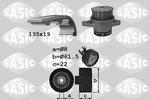 Zestaw paska rozrządu + pompa wody SASIC 3906065 SASIC 3906065