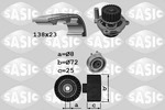 Zestaw paska rozrządu + pompa wody SASIC 3906070 SASIC 3906070