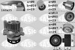 Zestaw paska rozrządu + pompa wody SASIC 3906078