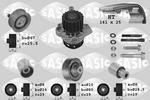 Zestaw paska rozrządu + pompa wody SASIC 3906090 SASIC 3906090