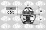Termostat układu chłodzenia SASIC  4000363