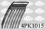 Pasek klinowy wielorowkowy SASIC  4PK1015