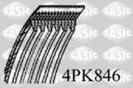 Pasek klinowy wielorowkowy SASIC  4PK846
