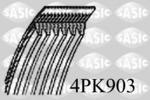 Pasek klinowy wielorowkowy SASIC  4PK903