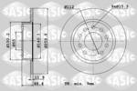 Tarcza hamulcowa SASIC  6106027 (Oś tylna)