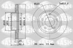 Tarcza hamulcowa SASIC  6106045 (Oś przednia)