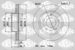 Tarcza hamulcowa SASIC  6106099 (Oś przednia)