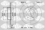 Tarcza hamulcowa SASIC  6106215 (Oś tylna)