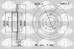 Tarcza hamulcowa SASIC  6106230 (Oś tylna)