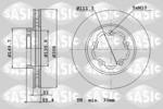 Tarcza hamulcowa SASIC  6106300 (Oś przednia)