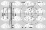 Tarcza hamulcowa SASIC  6106327 (Oś przednia)