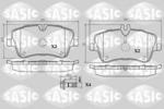 Klocki hamulcowe - komplet SASIC  6216031 (Oś przednia)