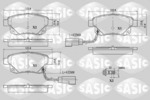 Klocki hamulcowe - komplet SASIC  6216032 (Oś tylna)
