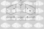 Klocki hamulcowe - komplet SASIC  6216087 (Oś przednia) (Oś tylna)