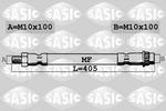 Przewód hamulcowy elastyczny SASIC  6604025 (Oś przednia) (Z lewej) (Z prawej)