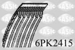 Pasek klinowy wielorowkowy SASIC 6PK2415 SASIC 6PK2415