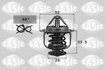 Termostat układu chłodzenia SASIC 9000715