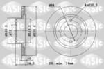 Tarcza hamulcowa SASIC 9004412J SASIC  9004412J (Oś przednia)