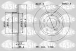 Tarcza hamulcowa SASIC  9004826J (Oś tylna)
