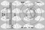 Tarcza hamulcowa SASIC  9004849J (Oś przednia)