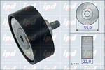 Rolka kierunkowa, prowadząca paska klinowego zębatego IPD 15-4086 IPD 15-4086