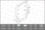 Szczęki hamulcowe hamulca bębnowego - komplet BERAL  1734718000015618