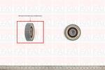 Koło zębate, wał rozrządu FAI AutoParts T1024 FAI AutoParts T1024
