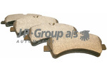 Klocki hamulcowe - komplet JP GROUP 1163705710