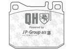 Klocki hamulcowe - komplet JP GROUP 1163608619