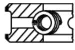 Zestaw pierscieni tłoka MAHLE  629 20 V0