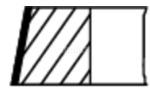 Zestaw pierscieni tłoka MAHLE  629 20 V0-Foto 2