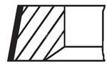 Zestaw pierscieni tłoka MAHLE ORIGINAL  004 01 N0-Foto 2