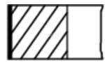 Zestaw pierscieni tłoka MAHLE 001 RS 11121 0N0 MAHLE ORIGINAL 001RS111210N0