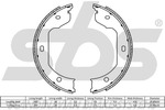 Szczęki hamulcowe hamulca postojowego - komplet SBS  18492715695-Foto 2