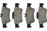 Klocki hamulcowe - komplet TOPRAN 401 431 TOPRAN 401431