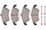 Klocki hamulcowe - komplet TOPRAN 401 900 TOPRAN 401900
