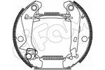 Szczęki hamulcowe - komplet CIFAM  151-371 (Oś tylna)