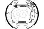 Szczęki hamulcowe - komplet CIFAM  151-454 (Oś tylna)