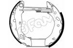 Szczęki hamulcowe - komplet CIFAM  151-483 (Oś tylna)
