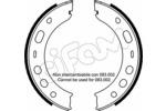 Szczęki hamulcowe hamulca postojowego - komplet CIFAM 153-336 CIFAM 153-336