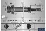 Przewód hamulcowy elastyczny MALŇ 80388 MALŇ 80388