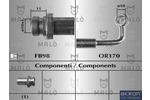 Przewód hamulcowy elastyczny MALŇ 80642 MALŇ 80642