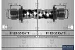 Przewód hamulcowy elastyczny MALŇ 80020 MALŇ 80020