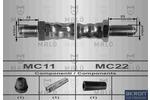 Przewód hamulcowy elastyczny MALŇ 8581 MALŇ 8581