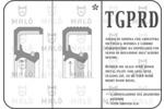 Pierscień uszczelniający wału korbowego MALŇ 1087PRDF