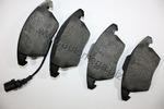Klocki hamulcowe - komplet AUTOMEGA 1069801515K0